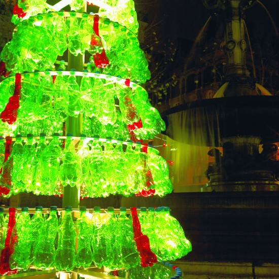 Recycled Plastic Christmas Tree: Sustainability
