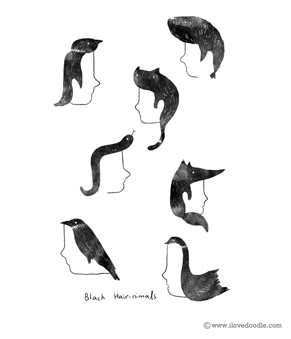 blackhairedanimals