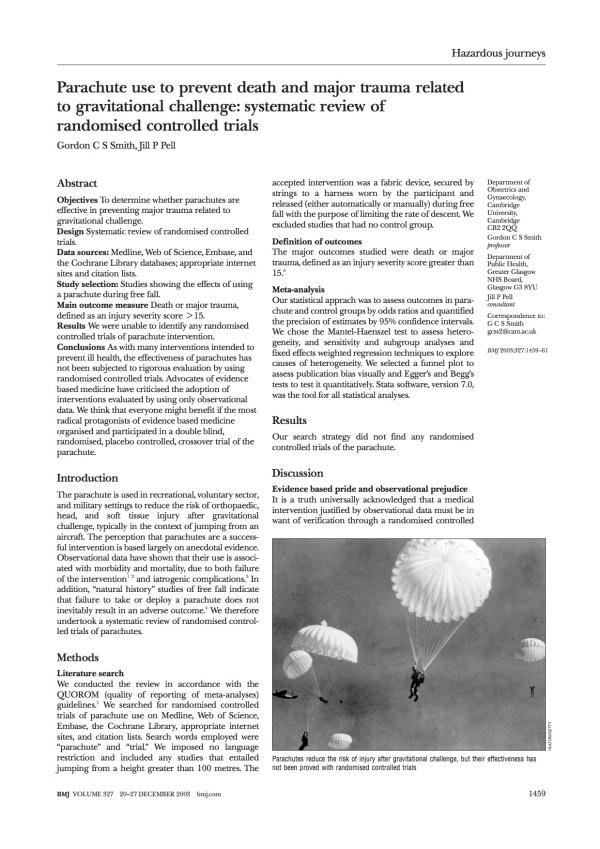 parachutepaper